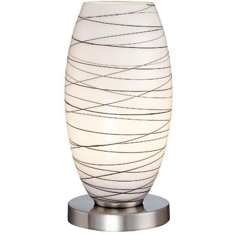 Glass Uplight Accent Lamp 19