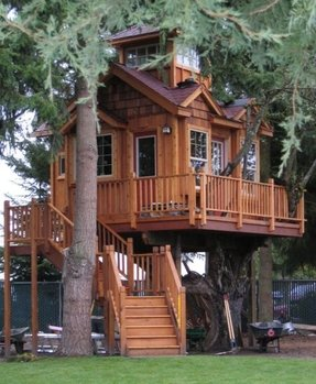Wood Playhouse For Kids Ideas On Foter