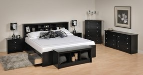 King bookcase bed 19