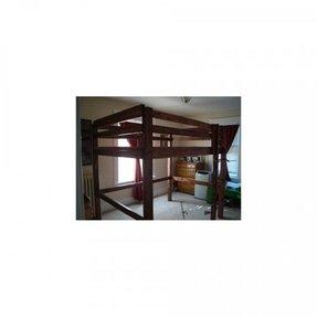 Loft bed steps foter for Reverse loft bed