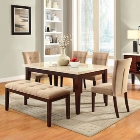 Marble Top Dining Table Set Foter