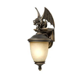 New 1 light gargoyle outdoor wall lamp lighting fixture oil