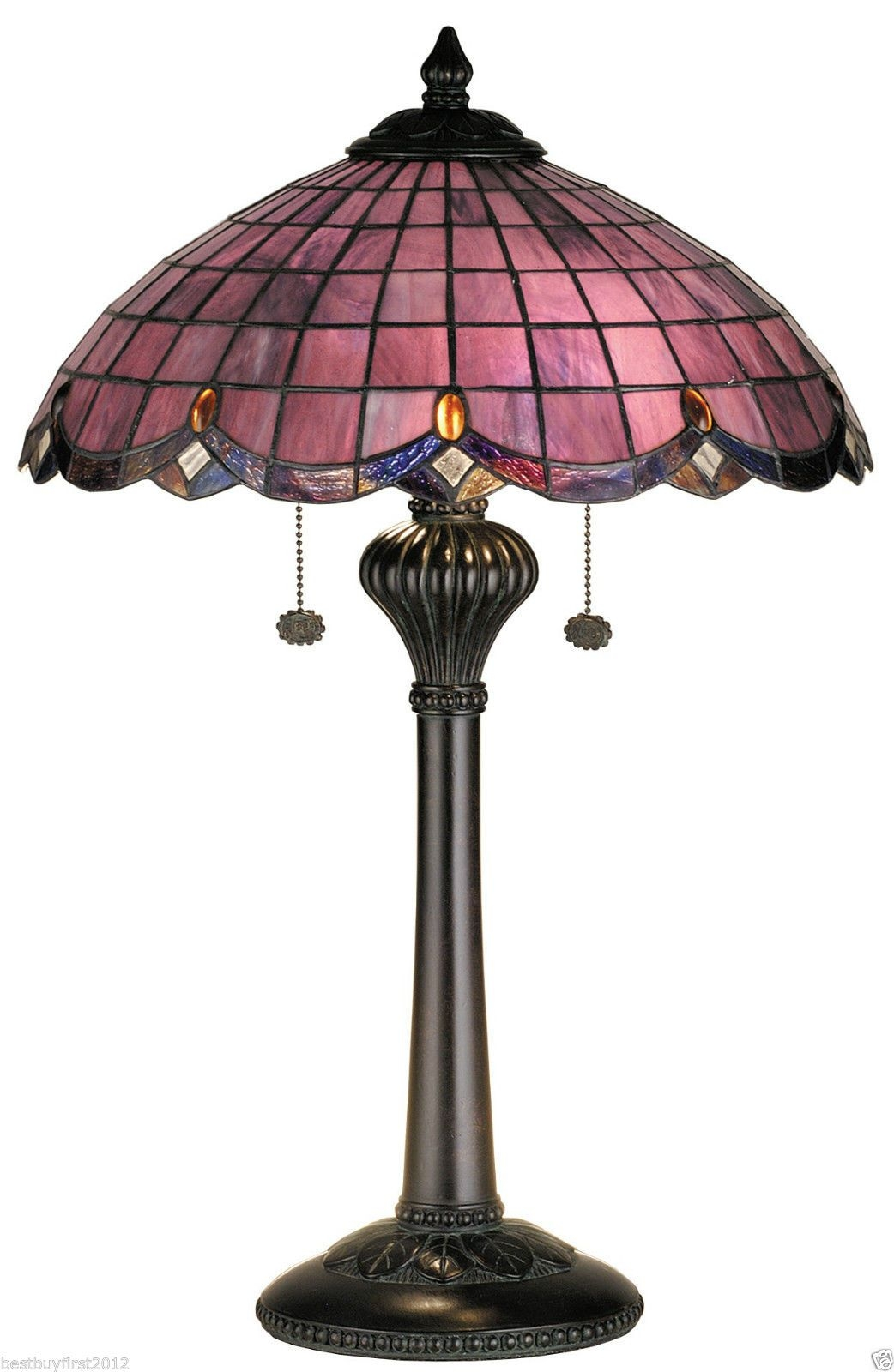 Purple Tiffany Lamp
