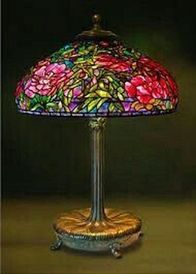 Purple Tiffany Table Lamp Foter