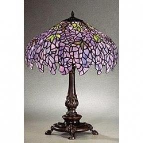 Purple tiffany table lamp foter purple tiffany table lamp 2 aloadofball Choice Image