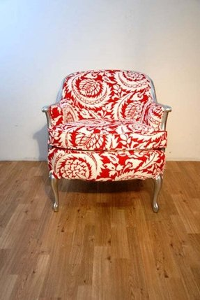 Red Wingback Chair Foter