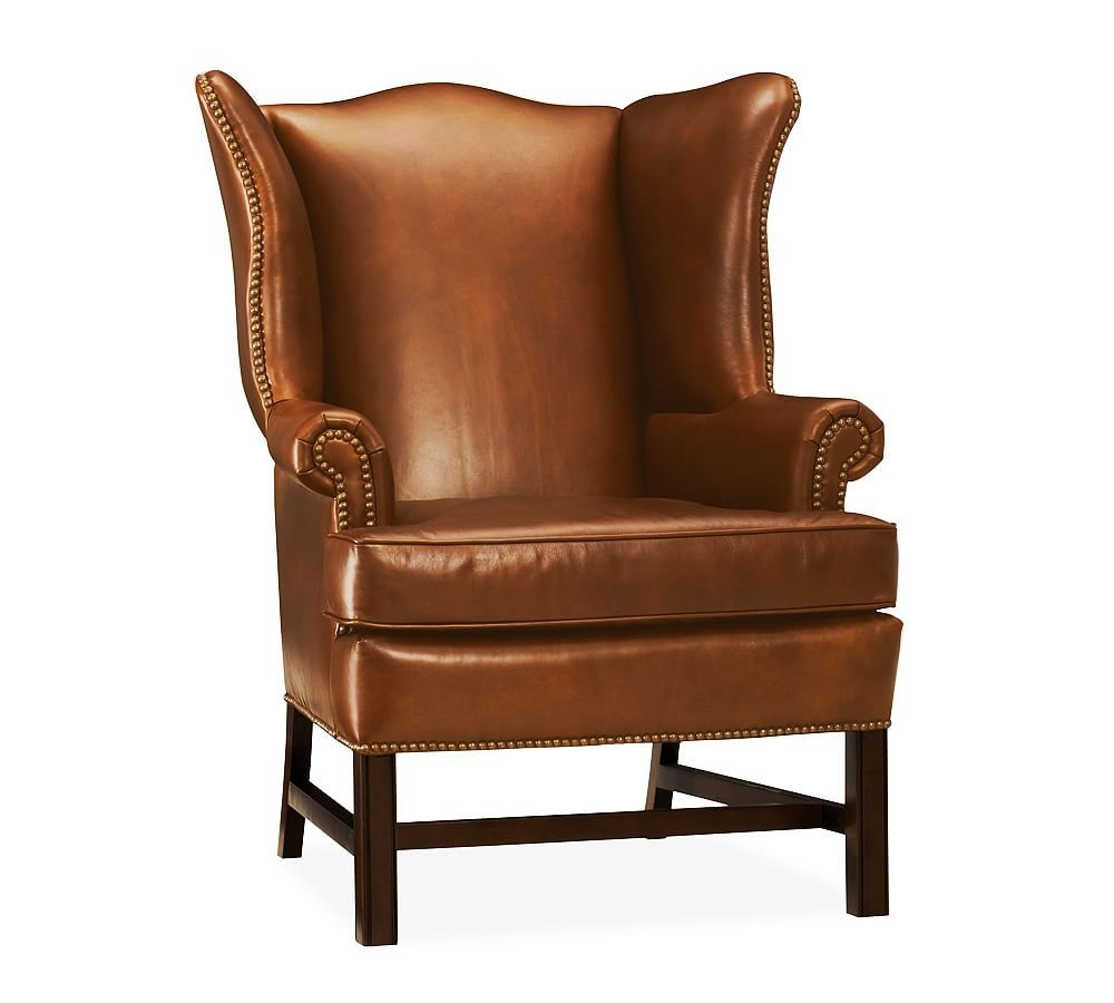 Red Wingback Chair 27