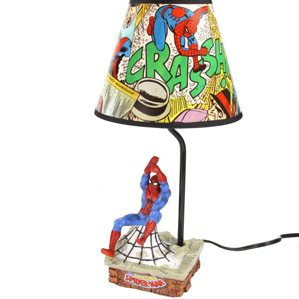 Nice Spiderman Lamp