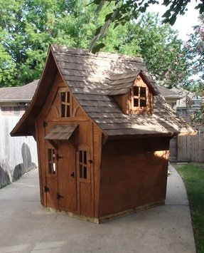 Wood Playhouse For Kids - Ideas on Foter