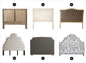 Upholstered and wood headboards 2