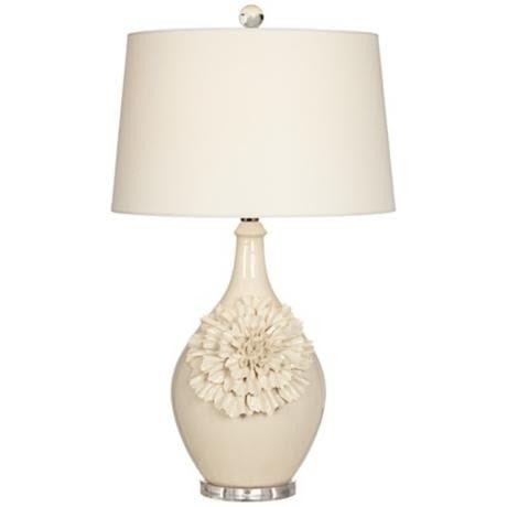 Vintage Floral Lamp