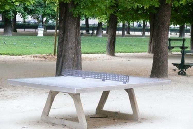 Waterproof Ping Pong Table