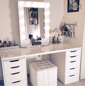 White Makeup Vanities Ideas On Foter