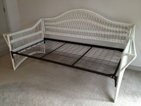 Wicker daybed cl 77