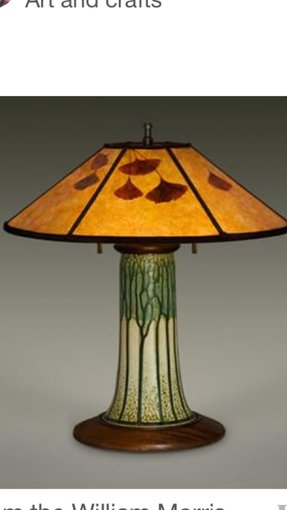 Arts and crafts lamp shades 1