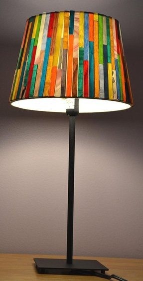 Arts and crafts lamp shades 22