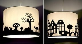 Arts and crafts lamp shades