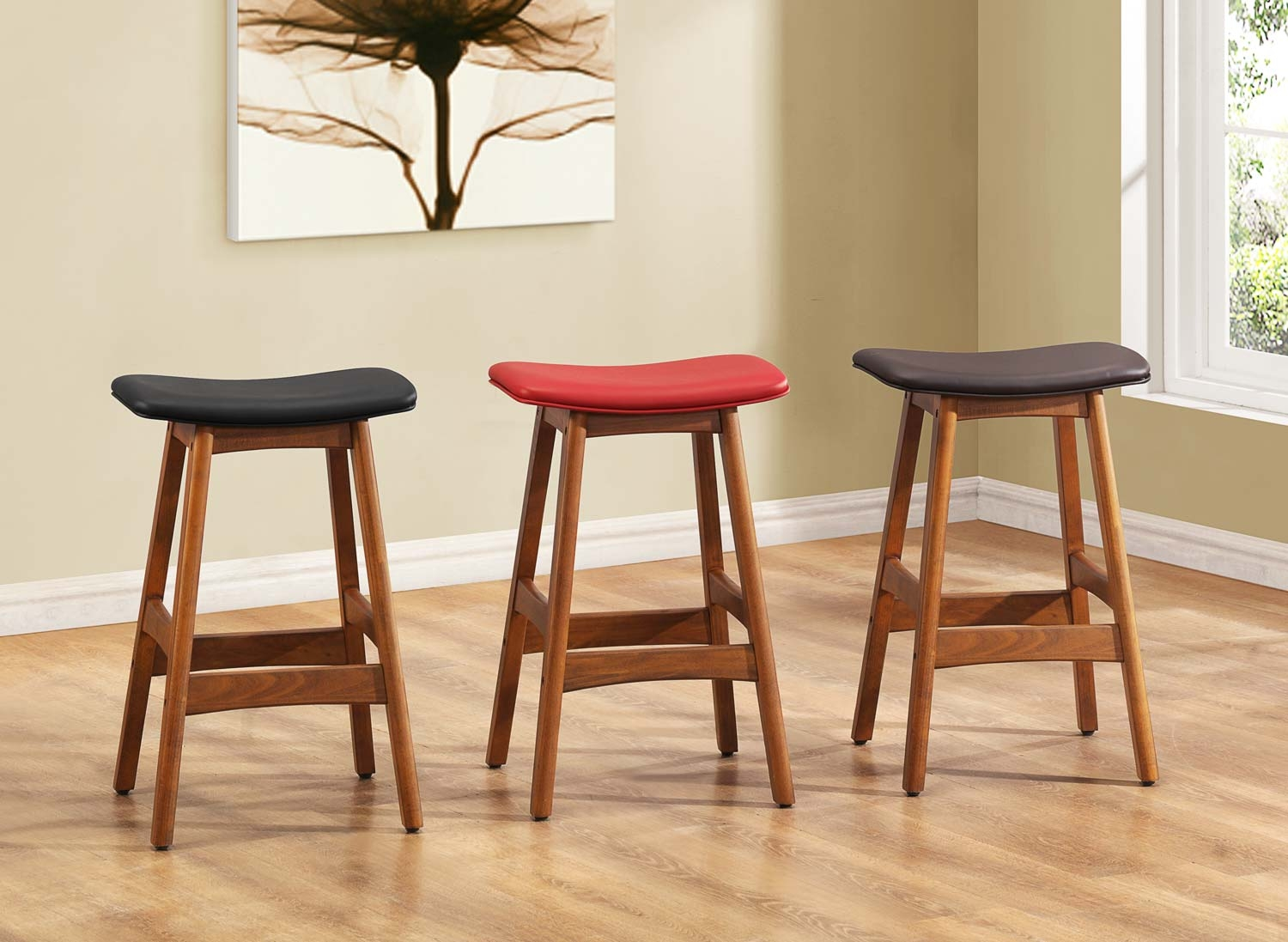 Marvelous Backless Kitchen Stools