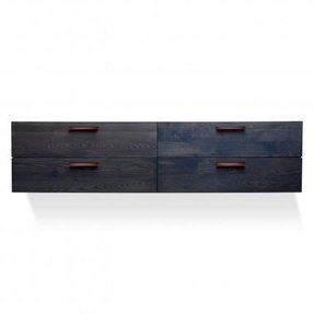 Blu dot shale 4 drawer wall mounted cabinet 2