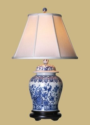 Blue Willow Table Lamp 1