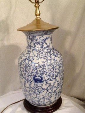 Blue Willow Table Lamp Foter