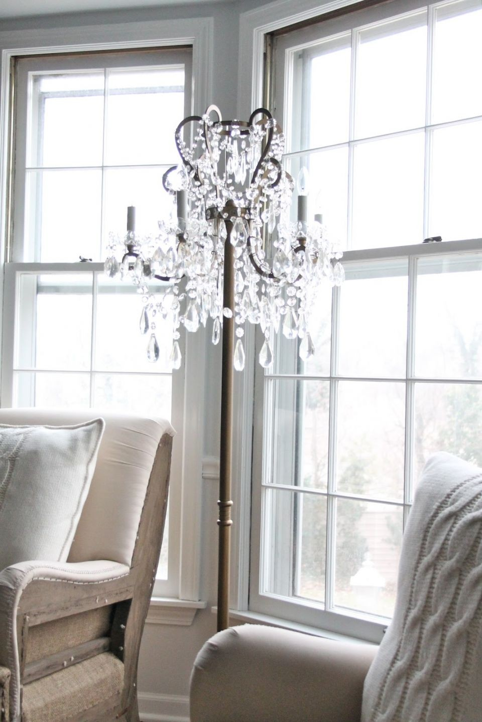 Chandelier Floor Lamps 1