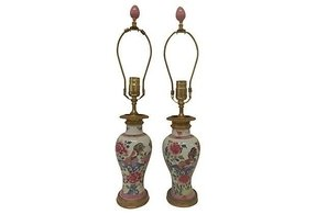 Chinese porcelain lamps 13