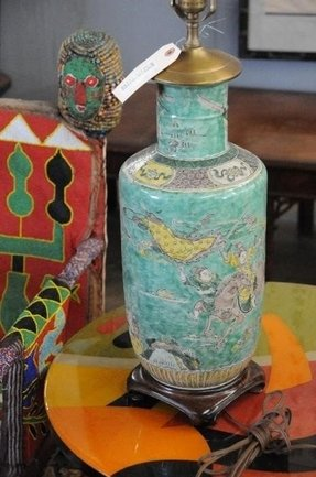 Chinese porcelain lamps 19