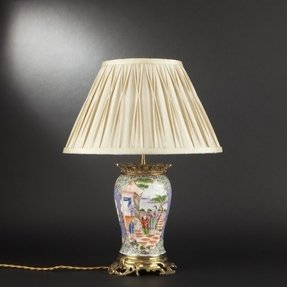 Chinese porcelain lamps 34