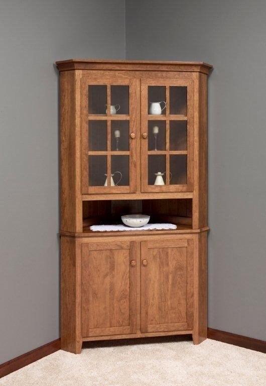 Corner Cabinet With Shelves