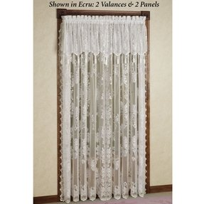 Curtains with valances attached 9