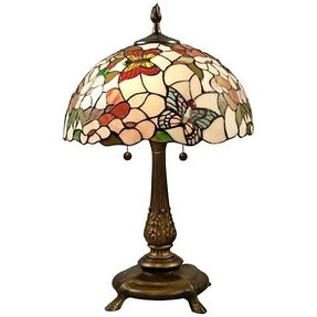 Dale tiffany butterfly lamp