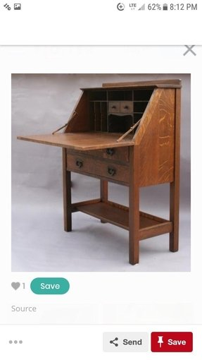 Furniture secretary desk 6