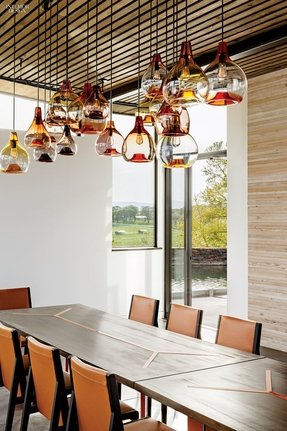 Glass kitchen pendant lights 10