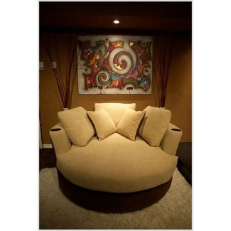 Loveseat Saucer Chair