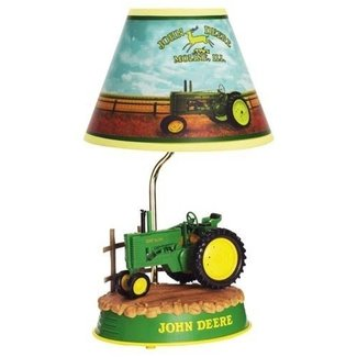 John Deere Tractor Animated Lamp, John Deere Neon Clock Also Available!