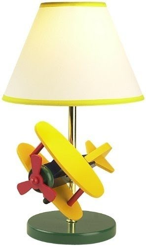 Kids Airplane Table Lamp 7