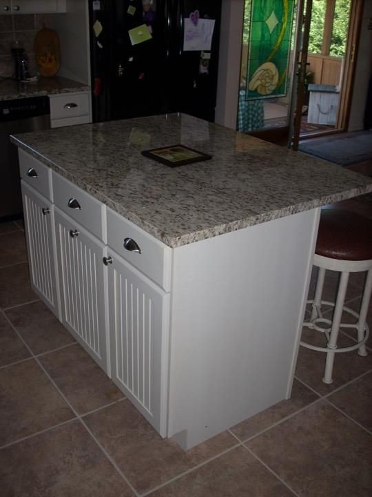 Bon Kitchen Island With Granite Countertop