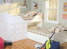 L shaped bunk beds for kids 1