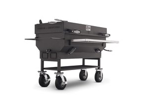 Large charcoal barbecue grills 1