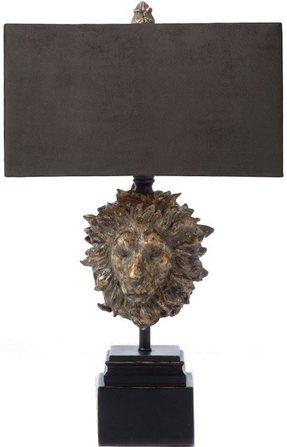 Lion table lamp foter lion table lamp aloadofball Choice Image