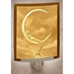 Lithophane night light