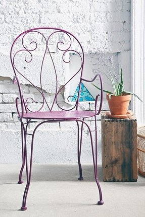 Metal garden chairs 22