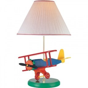 Kids Airplane Table Lamp Foter