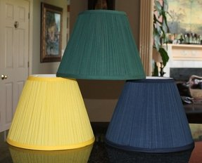 Mushroom Pleated Lamp Shade