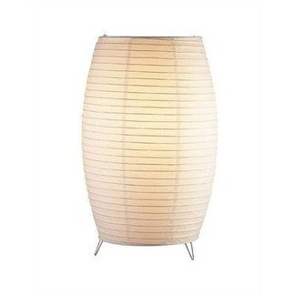 Paper shade table lamp