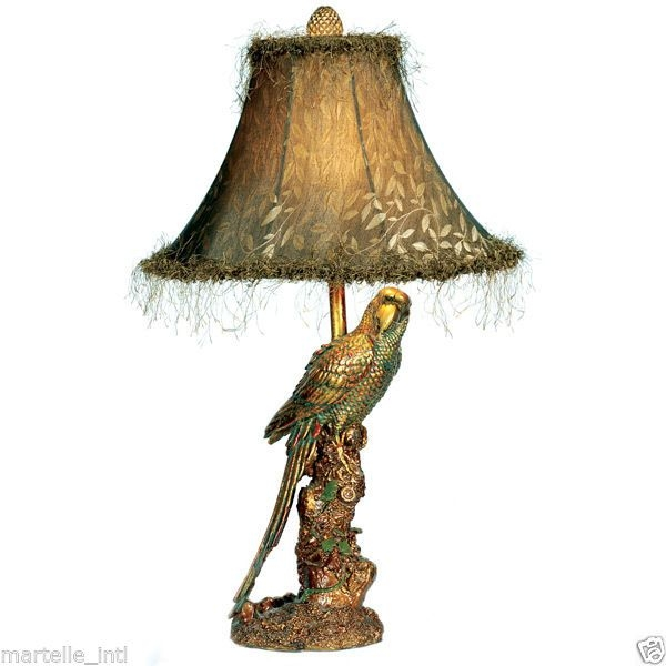 Parrot table lamp 1