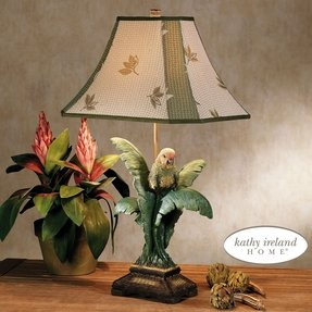 Parrot table lamp 8