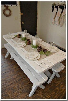 Bench Style Kitchen Table Sets Ideas On Foter