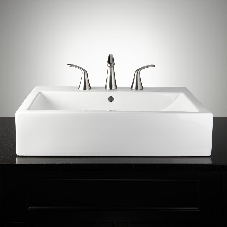 Rectangular Sink Vessel 5